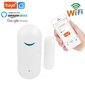 Tuya Smart Door Sensor Solution WIFI-Tür- und Fensteralarm-Fernbedienung Intelligent Linkage WiFi Switch Support Alexa Google Home