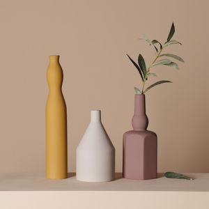 Cerâmica Seco Flor Vaso Norte Europeia Estilo Molandi Color Criatividade Ins Sala de estar Arranjo de Flores Simples Decoração de Casa 33 S2