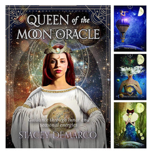 Queen of the moon Oracle Cards 1 Tarots Black Friday 2021 Sales