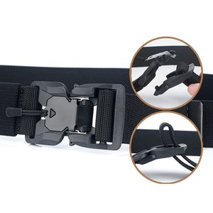 Fashion Belt Tactical Belts Nylon men belt Heavy magnetic Buckle Adjustable Military Army women belt outdoor Quick Release Jeans strap