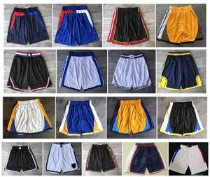 Top Quality ! 2019 Team Basketball Shorts Men Shorts de basket Sport Shorts College Pants White Blue Red Purple Yellow Black