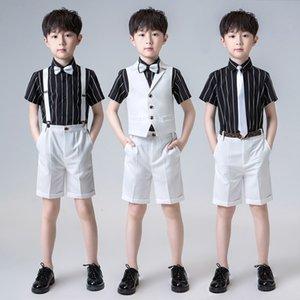 Children's Male Host Piano Performance Little Flower Show Boy's Suit British Style 61