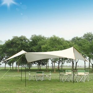 Increase Thickening Anti-Tear-Proof Silver Coated Oxford Cloth Canopy Sunscreen Awning Rainproof Pergola Outdoor Camping Tent