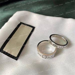 Mens Luxurys Designers Jewelry Designer Rings Engagements For Women Love Ring Men Classic Skull Fashion Rings 925 Sterling Silver