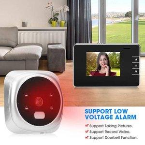Doorbells 2.8 Inch Doorbell Electronic Peephole Door Camera LCD Digital Night Vision Video
