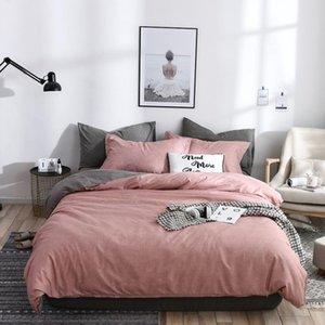 2021 Fresh Style home bedding sets bed linen duvet cover flat sheet Bedding Set Winter Full King Single Queen bed set