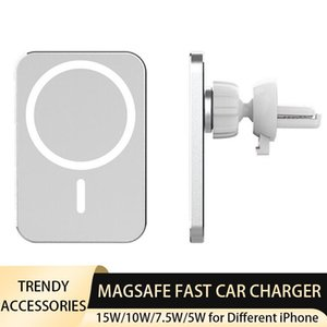 Hot Selling Magnetic Car Quick Charger for iPhone 12 Pro 12 Mini 12 Pro Max Support Magsafe Wireless Fast Charging Car Holder 15W 10W 7.5W