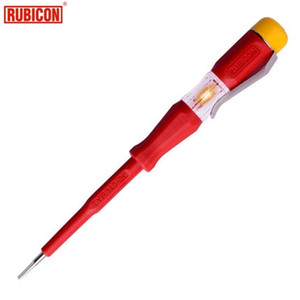 Japan RUBICON Electrical Tools RVT-211 Test Pencil 220~250V LED Voltage Tester Pen Diameter 3.0mm Slotted VDE Approved Y200321