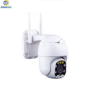 Auto-Tracking IP WiFi Speed Dome Camera 1080P WiFi esterno P2P H.265 Surveillance IP Supporto audio PTZ Camera wireless