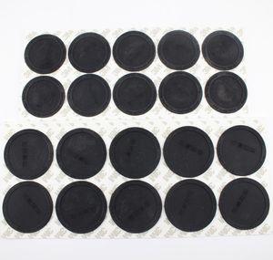 Parte inferior de goma para 15 oz 20 oz 30oz Skinny Tumbler Pegatina de montaña negra adhesiva de goma adhesiva inferior negro cubierta protectora protectora tapa WWA141