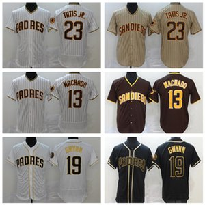 Custom 2021 Dinelson Jersey 23 Fernando Tatis Jr. 9 Jake Cronenworth 18 Austin Hedges 10 Hunter Renfroe 5 Greg Garcia Baseball Jersey
