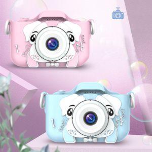 2,0 pulgadas Niños Mini cámara Foto digital Video Frente Lente trasera Lente Educativa Regalos de Navidad para niños Toys Regalo Niño Chica