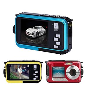 Digital Cameras Outdoor Sport Portable Camera 2.7'' Screen 16X Zoom Waterproof Video Camcorder Suitable For Adults And Children