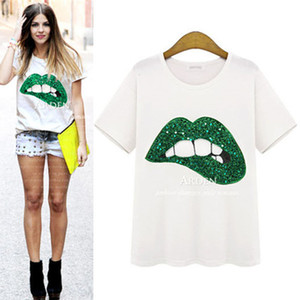 New Summer Women Solid t Shirt Cartoon Embroidery Loose o Neck Short Sleeved Harajaku Tees Oversize 2021 Fashion Ladies Casual Tops 233s