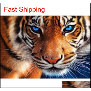 24 Patterns Full Diy Diamond Painting Cross Stitch 5d Animal Collection Kids Christmas Gifts Mosaic Diamond qylgFi bbgargden