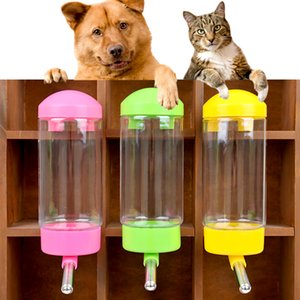Convenient hanging dog water bottle automatic leak proof pika drinking bowl feeder