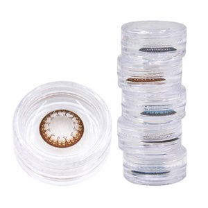 고품질 유행 다채로운 콘택트 렌즈 케이스 저렴한 편안한 연락처 케이스