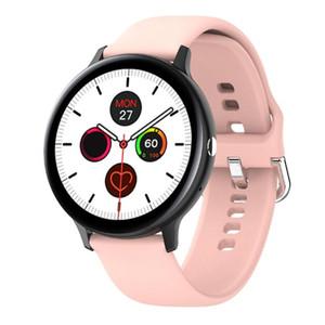 1 unids S20 Smart Watch Women Pantalla táctil completa ECG Monitor de frecuencia cardíaca IP68 Relojes deportivos a prueba de agua para Android iOS