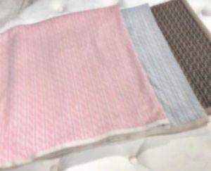 NewBorn Baby Knitting Blanket Boy Soft 100% Cotton Kids Girls Infant Winter Blanket Tops 100x100cm