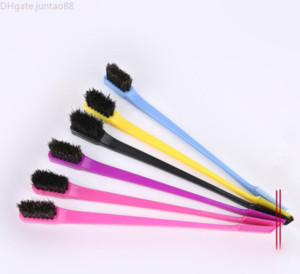 NEW Beauty Double Sided Edge Control Hair Comb Hair Styling Hair Brush Women Cosmetic Beauty Tools