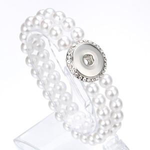 Unisex Bohemian 18mm Metal Snap Button Natural Stone Crystal Bracelet Carter Love Bangle Wrist Watches For Women jllcDC