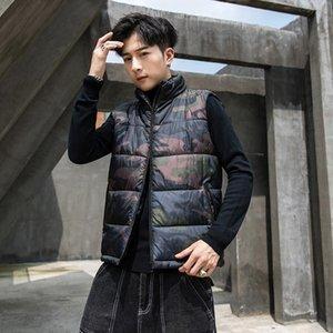 Мужские жилеты мужские толстые без рукавов куртка пальто мужские жилет хлопчатобумажные зимние повседневные куртки мужской теплый жилет гильза