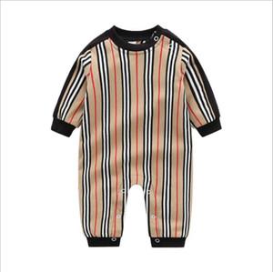 2021 جديد الطفل مخطط السروال القصير ربيع الخريف الطفل طويلة الأكمام حللا طفل القطن نيسيس الاطفال السروال القصير