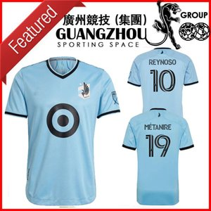 2021 MINNESOTA home UNITED away soccer jerseys GREGUS 8 METANIRE 19 DOTSON 31 REYNOSO 10 2022 21 22 JERSEY FOOTBALL SHIRTS