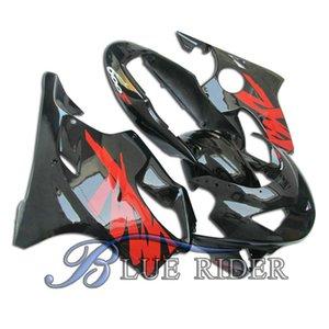 Motorcycle Fairing Kit para Honda CBR600 F4 99 00 CBR600F4 1999 2000 F4 CBR600 Vermelho Black Bodyworks Abs Fairings Set