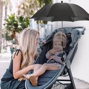 Umbrellas 1pcs Detachable Baby Stroller Umbrella Adjustable Pram Cover UV Rays Sun Shade Parasol Rain Protecter Outdoor Tool