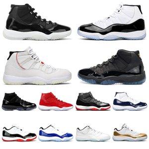 الجديد  11S أحذية كونكورد 45 كرة السلة للرجال ولدت NEW الفضاء المربى غاما الأزرق إمرأة رجل الرياضة أحذية رياضية حجم 5،5 حتي 13