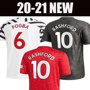 Футболки 2020 2021 Manchester CAVANI VAN DE BEEK B. FERNANDES RASHFORD футбольная рубашка Fat plus size shirt 20 21 man + kids kit