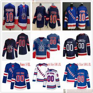 2021 Retro Retro New York Rangers Hockey-Trikots Kaapo Kakko Alexis Lafreniere Mark Mortier Chris Kreider Pavel Buchnevich Artemi Panarin