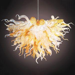 Ручной взорванные люстры Светильники гостиной спальни энергосберегающие освещения индивидуальные американские светлые чистые разноцветные лампы Nordic Home Decor