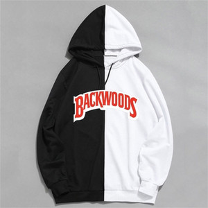 Spring thin section New Brand Men's Sportswear Fashion Backwoods Print Hoodies Pullover Hip Hop Men Tracksuit Hoodie Sweatshirts Y201001