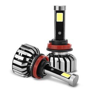 6000K H8 / H9 / H11 CREE LED Lâmpada Lâmpada Kit de conversão de luz Bulbo 10000LM 2X 50W 2pcs