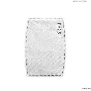 Filter Pm2.5 Activate Insert Soft Carbon Original Non-woven Mask Replaceable Pad White for K,kn94 7x10cm