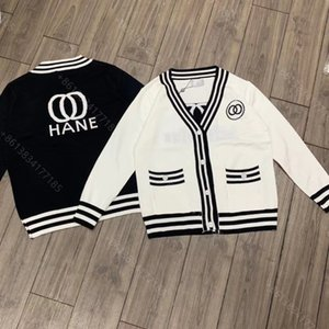 Wholesale women wool sweater jacket cc brand designer clothes ladies long sleeve hoodie coat winter girls tops letter logo casual sweaters super elastic factory