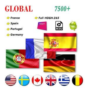 OTT Plus France Abonnante d'ONES 1 A M3 U EN EUROPE UTILISATION 9000LIVE Pour Android TV Boîte SMART M3U