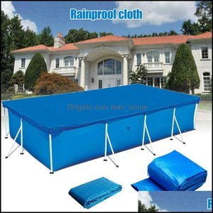Pool Water Sports Outdoorspool & Aessories High Rectangar Swimming Uv-Resistant Er Waterproof Dustproof Durable Ers Dog88 Drop Delivery 2021
