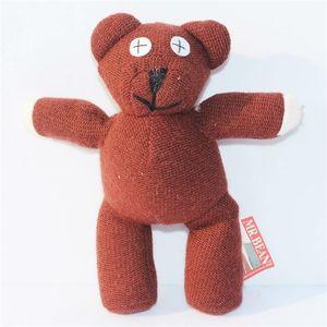 """13 """"35cm Mr Bean Teddy Bear Animal En Peluche En Peluche Toy Figure Marron Figure Poupée Enfants Livraison Gratuite Détail C0220"""