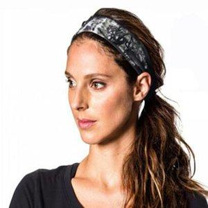 Tie Dye Cycling Yoga Sweat Sweat Diadema Hombres Sweatband para hombres Mujeres Yoga Bandas de pelo Cabeza Sudor Bandas Deportes Cabello ACC Jllata