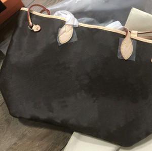 2pcs / Set borse borse a borse da donna Classic Womens Borse da donna Flower Ladies Tote Borse a tracolla in pelle Borse a tracolla