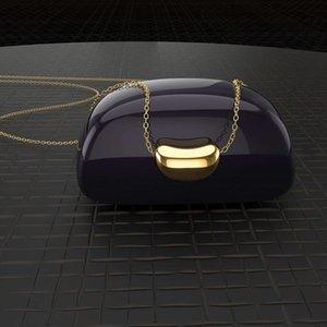 HBP New simple Acacia fashion clavicle chain love bean Pendant