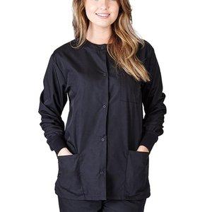 Unisex 2pcs Women Nursing Scrubs Costume Uniform Suits O-neck Short Sleeves Top With Elastic Waisted Long Pants #T2G