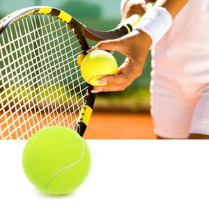 1pcs Professional Reinforced Rubber Tennis Ball Shock Absorber High Elasticity Durable Training Ball for Club School Training
