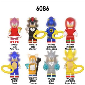 New product WM6086 animation series children's assembling minifigure enlightenment building block toy