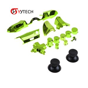 SYYTECH Free Shipping High Quality Repair Part Controller Electroplate button ABXY Full Sets Button For XBOX ONE Controller button