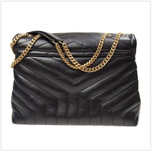 Diseñador Lou Lou Lou Monederos Bolsos de alta calidad Cuero genuino Mujeres Famosas bolsas Crossbody Messenger Cadena Bag Bolso Loulou # 2021 #