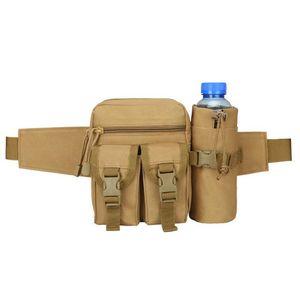 HBP 16 cm + 7 cm * 9 cm patlayıcı koşu spor bel su geçirmez çanta taktik su şişesi bel çantası açık sırt çantası erkek bel çantaları spor çantaları